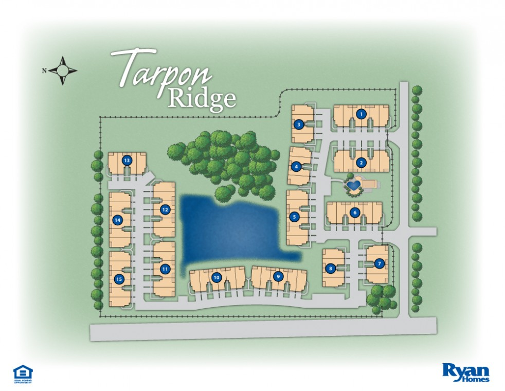 tarpon ridge site map
