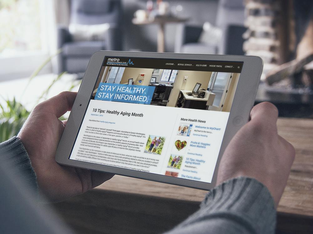 MetroIPC - iPad View