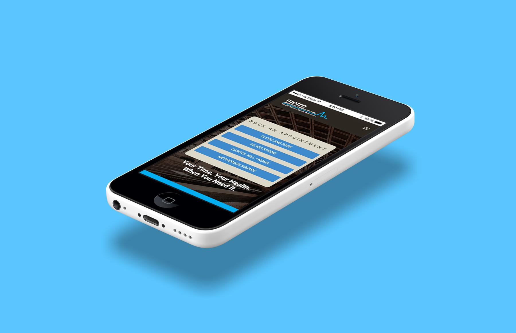 MetroIPC Website Design & Development by Alesha Randolph