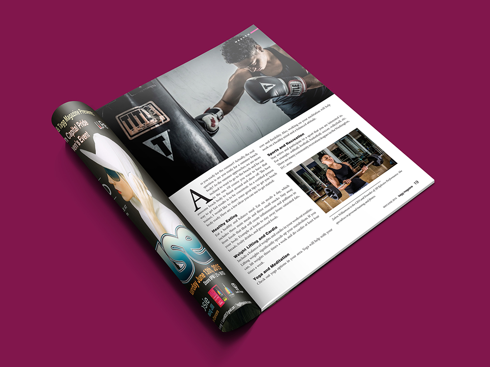 Tagg Magazine - Boxing Article